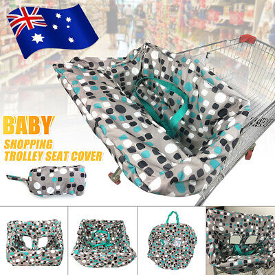 Baby Kid Shopping Trolley Cart Cover Seat Child High Chair Protective Pad Mat AU