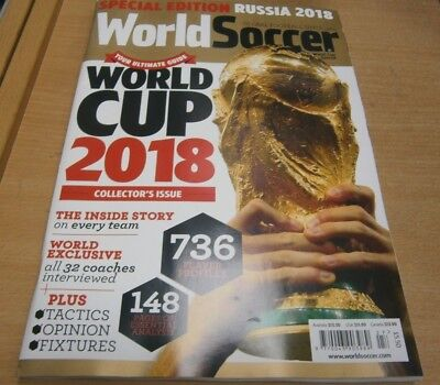 World Soccer Ultimate Guide to World Cup Russia 2018 Special Ed Collectors Issue