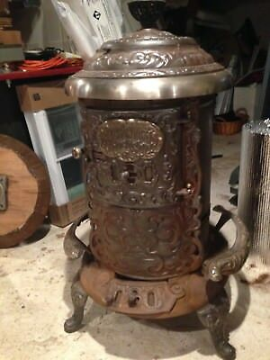Antique Wood Stove P.D. Beckwith