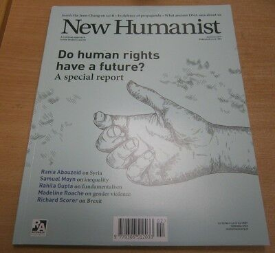 New Humanist magazine Summer 2018. Human Rights Special Report + Syria, Brexit
