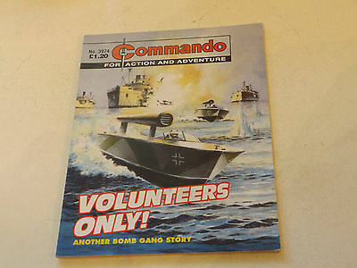 Commando War Comic Number 3974!!,2007 Issue,v Good For Age,10 Years Old,v Rare.