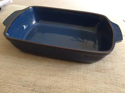 Denby Boston Serving Dish Oblong Eared