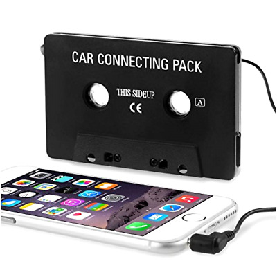 Cassette Tape Adapter Aux Cable Audio Cord 3.5mm Jack for to MP3 iPod CD Player