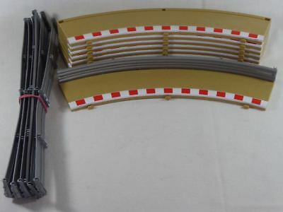 Scalextric (8pcs.) Radius 2 outer Borders & Fences C8228/L8712/L8713 (SO2688)