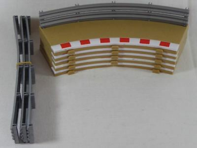 Scalextric (5pcs.) Radius 1 outer Borders & Fences C8240/L8995/L8998 (SO2690)
