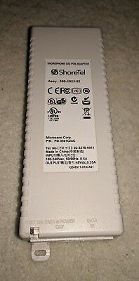 Pre-owned ShoreTel Shorephone Gig Poe Adapter PD-3501G/AC With Power cable