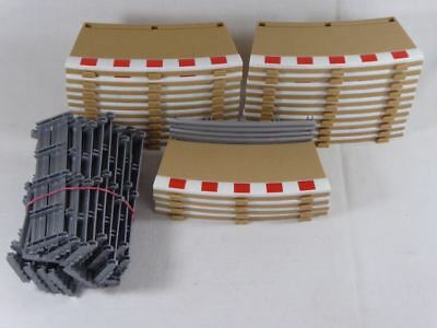 Scalextric (24pcs.) Radius 3 inner Borders & Fences C8281/L9505/L9546 (SO2691)