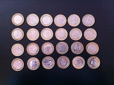 £2 Two Pounds British Coins Various 1999 To 2014