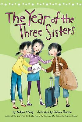 The Year of the Three Sisters by Andrea Cheng (English) Paperback Book Free Ship