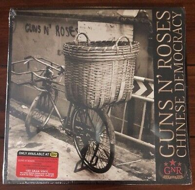 GUNS N' ROSES Chinese Democracy 2xLP New Sealed 180 GRAM Vinyl Record Album Mint