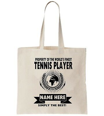 Snooker Player Personalised Tote Bag Shopper Thanks Amend Birthday Gift