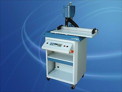 Paper Drill-Concorde Single Head w/programmable table,Mfg by OMM Marchetti-Italy