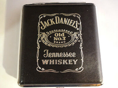 Great Vintage Jack Daniels Whiskey Old No. 7 Cigarette Case