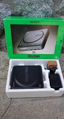 Sony Discman D-2 Vintage Cd Player