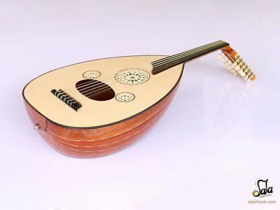 Turkish Professional Half Cut Electric Oud Ud String Instrument Aok-301G
