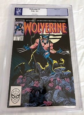 Wolverine #1 (1988) - 1St Ongoing Series - Graded 9.2 (Cgc, Pgx, Cbcs)