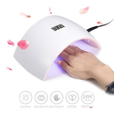 SUN9S 24W LED Séchoir à ongles Vernis à Ongles Gel Nail Art Lampe UV