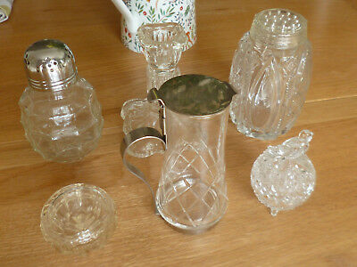 Gorgeous Joblot Collection of Vintage Glass Items