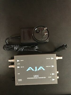 AJA Up/Down/Cross Converter - with power supply