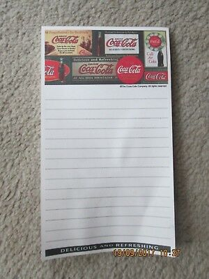 Coke Magnetic Note Pads