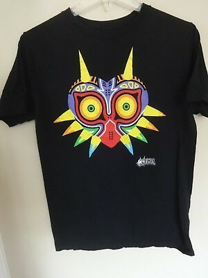 EUC - Legend Of Zelda - Majora's Mask 3D - Graphic Printed T-Shirt Men Medium #2