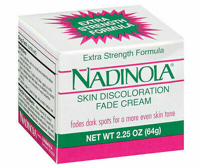Nadinola Skin Discoloration Fade Cream Extra Strength 2.25 oz NIB