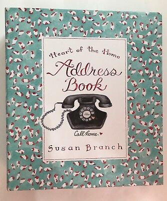 Susan Branch Heart Of The Home Address Book