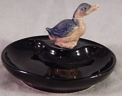 Vintage Wade Porcelain Ashtray Duck Figurine Ireland