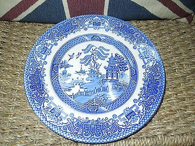 WILLOW PATTERN SIDE Plate. English Ironstone Tableware Limited ...
