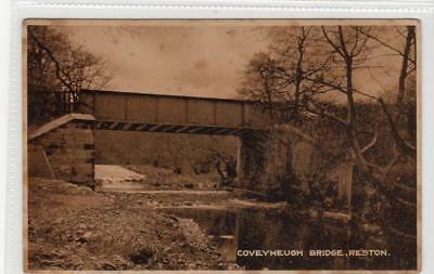 COVEYHEUGH BRIDGE, RESTON: Berwickshire postcard (C31964)