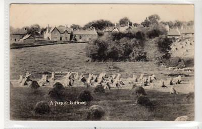 A PEEP AT LEITHOLM: Berwickshire postcard (C32010)