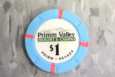 $1 Primm Valley Resort & Casino  Primm . Nevada  By Paulson Poker Chips
