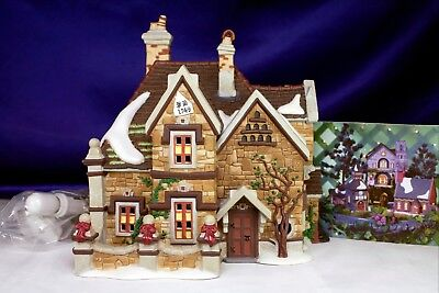"""Dickens Village Heritage Dept 56 """"Tattyeave Knoll"""" Complete Set In Box PERFECT!"""