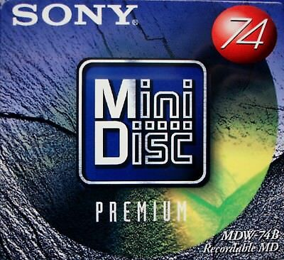 SONY MD 15 x MDW-74B SONY Premium Digital Audio MiniDisc