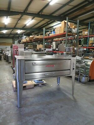 Blodgett 1060 Single Deck Gas Pizza Oven - FULL REBUILD - MUST SEE -