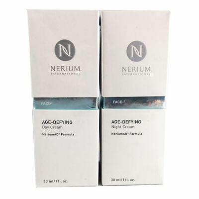 Nerium Age Defying Night and Day AD Cream Complete Kit - FACTORY SEALED!