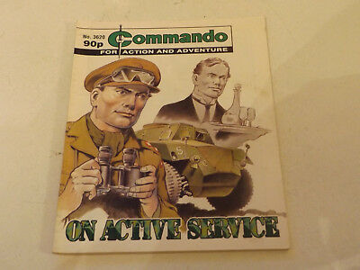 Commando War Comic Number 3620,2003 Issue,v Good For Age,15 Years Old,very Rare.
