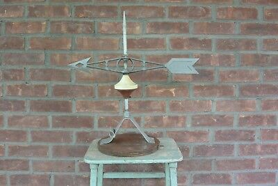 Vintage Robbins Lightning Rod and Weather Vane, NR