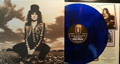 "Marc Bolan  - 'skycloaked Lord (Of Precious Light)' 12"" Blue Vinyl Album."
