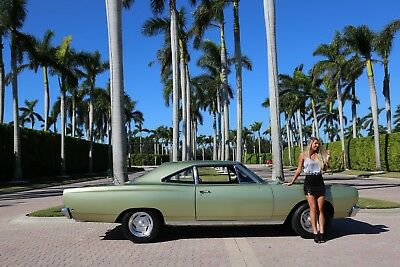 1968 Plymouth Road Runner Road Runner 1968 Road Runner BB 383 4 Speed Beautiful Mopar