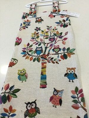 Slim Line, Space Saving, Nappy Stacker Owls In The Tree, Handmade, New