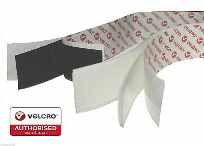VELCRO® Brand Sticky Back Self Adhesive Hook & Loop Stick On Fastener Tape PS14