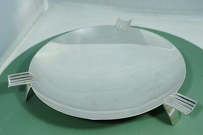 Modernist Tiffany & Co Sterling Cigar Ashtray