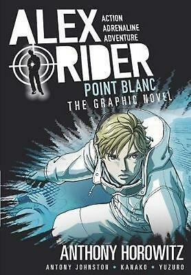Point Blanc Graphic Novel by Anthony Horowitz Paperback Book Free Shipping!