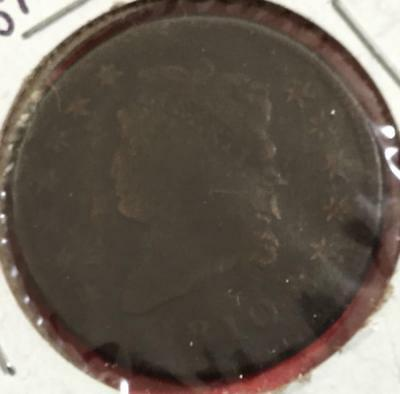 """1810 US Turban """"CLASSIC"""" LARGE CENT! Old US Coins!"""