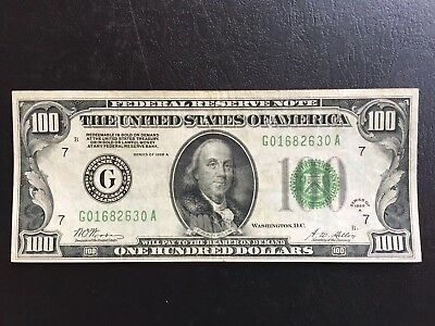 $100 Dollars Redeemable In Gold Small Size Bill (1928-A) Nice Old Note
