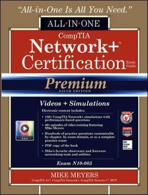 All-In-One: CompTIA Network+ Certification by Mike Meyers (2014, Hardcover,CD)