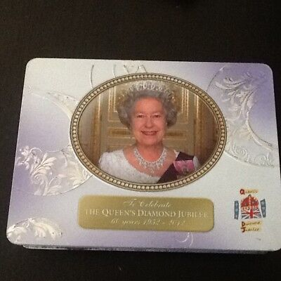 Queen Elizabeth II Diamond Jubilee Commemorative Walkers Tin