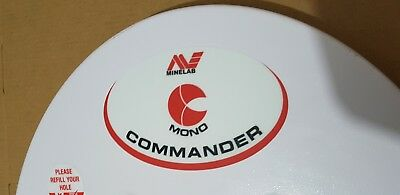 Minelab metal detector MONO COMMANDER coils 15.5in' by 12in'