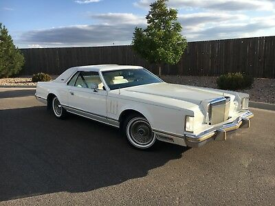 1979 Lincoln Mark Series Collectors series Lincoln Mark V Collectors Series 1979 1 of 13 made with these options